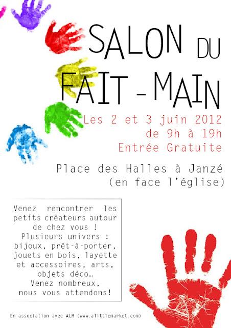 Claralily articles de pu riculture salon du fait main - Salon puericulture 2015 ...