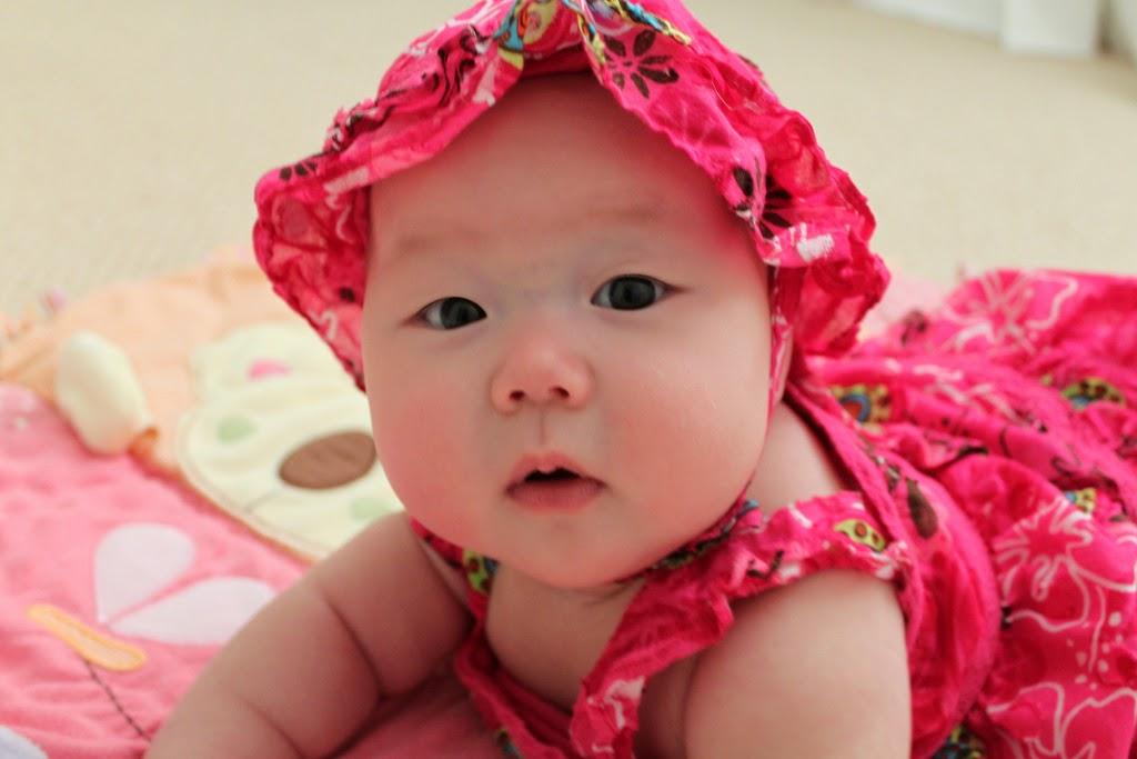 Gambar bayi cantik dari korea