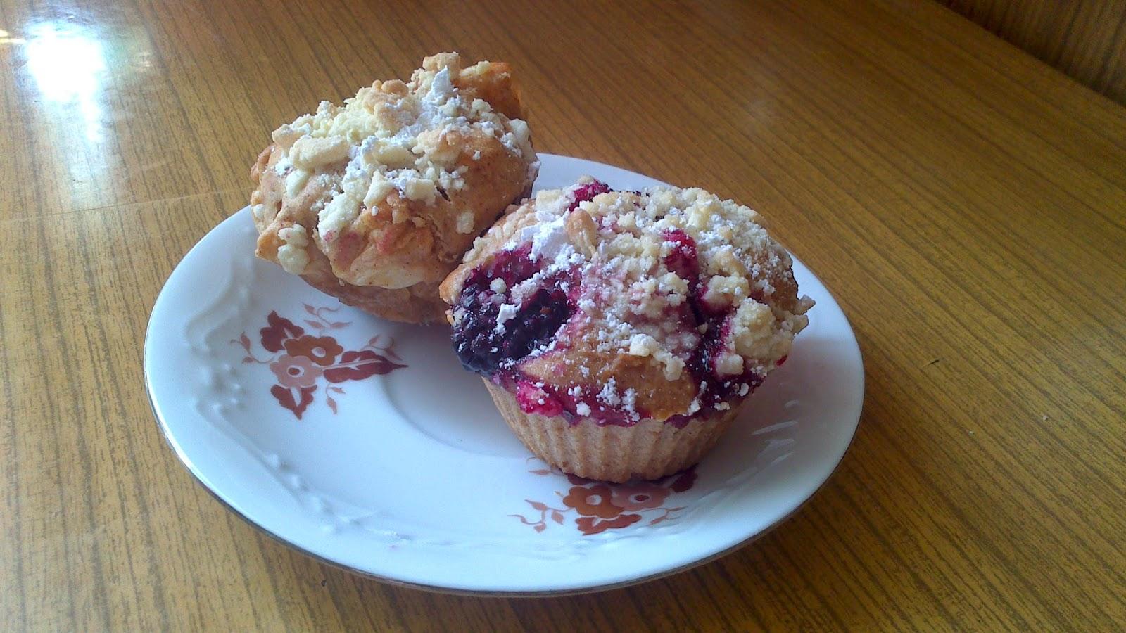 Owocowy zawrót głowy czyli słów kilka o słodkich muffinkach...
