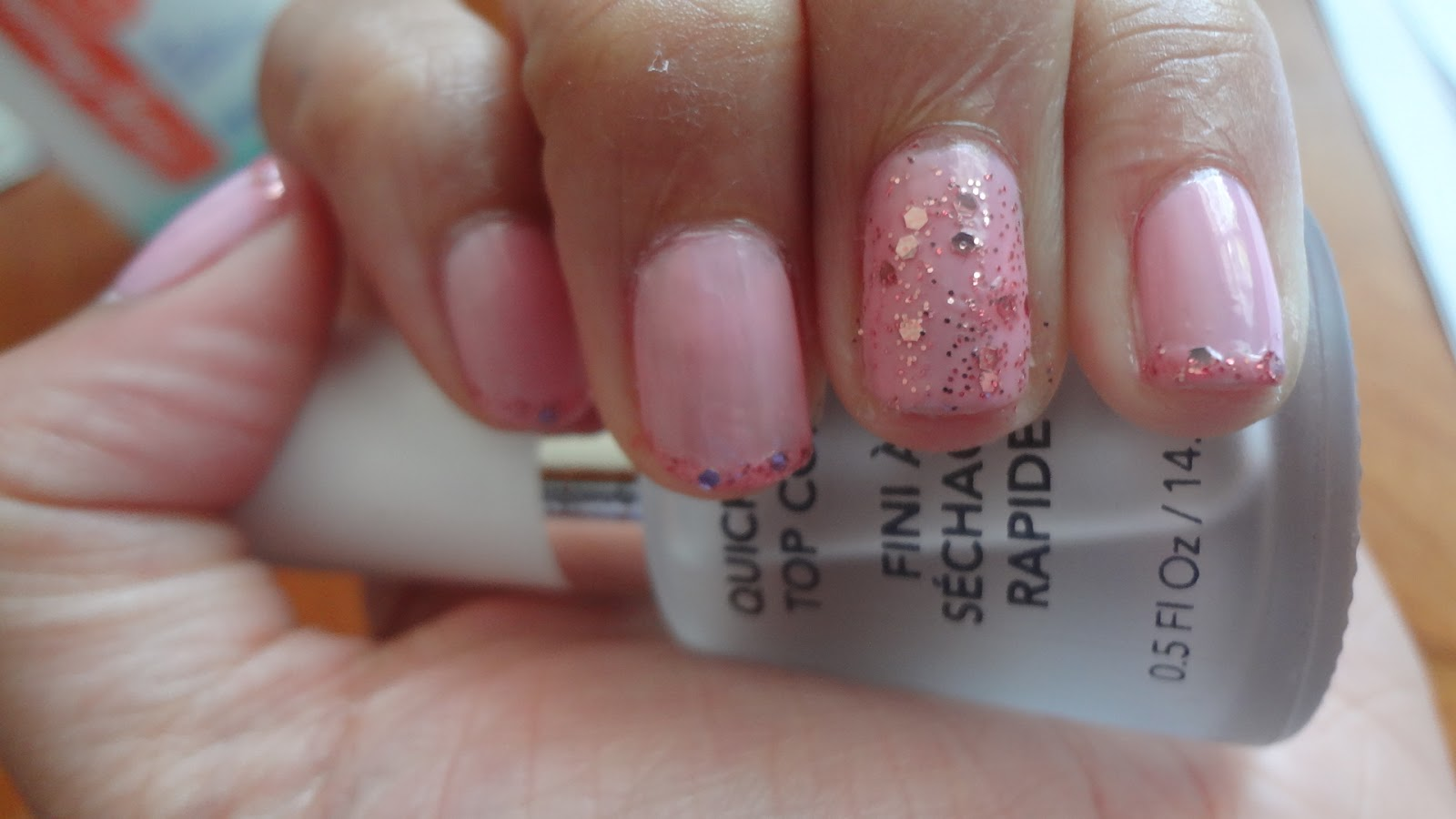Ace Nails & Fashion: My First Nail Design - Prom Inspired