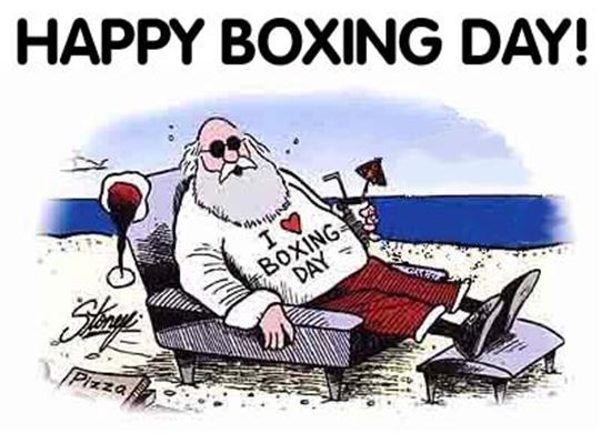 Boxing Day | All the action from the casino floor: news, views and more