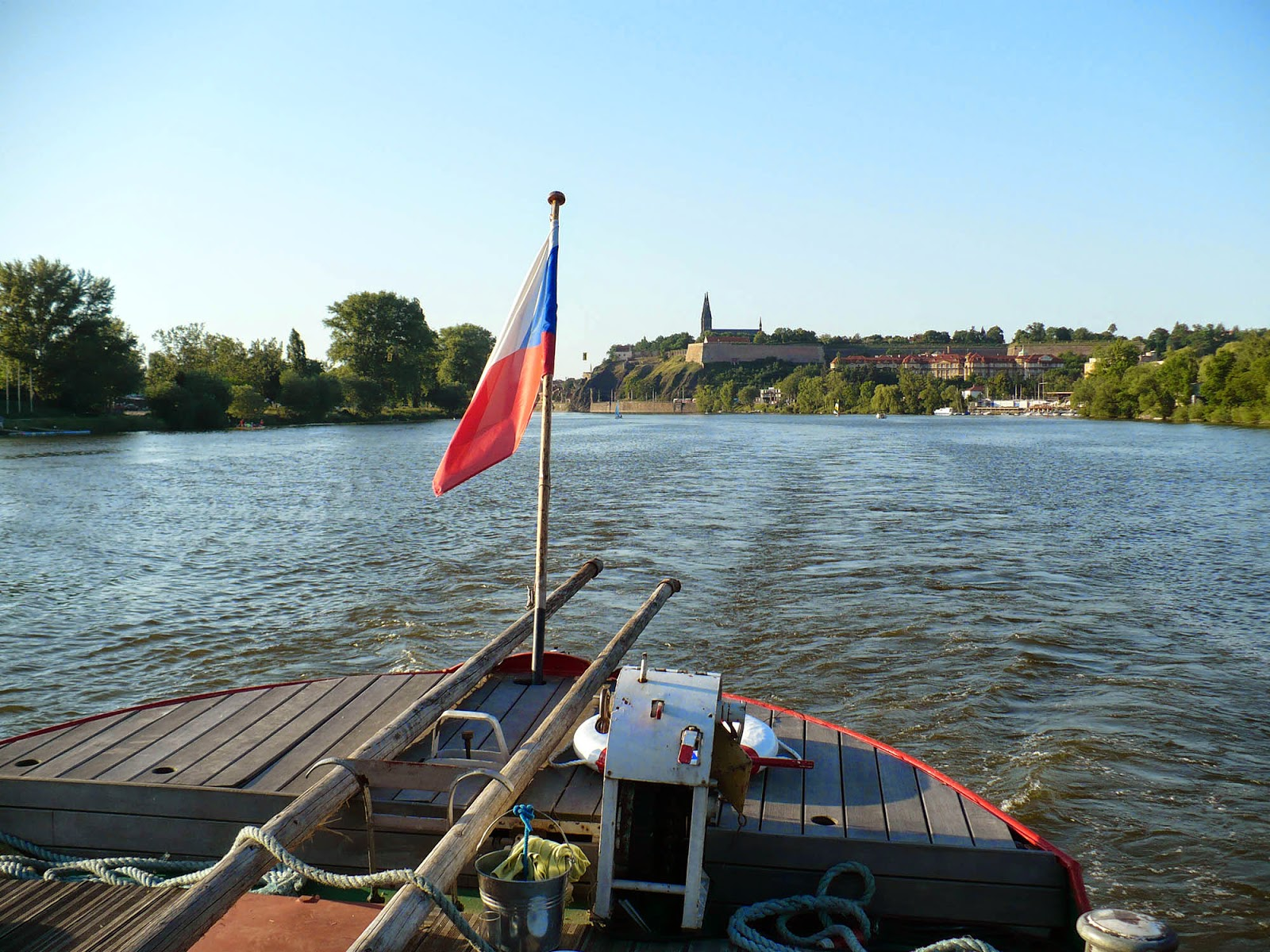Projížďka po Vltavě