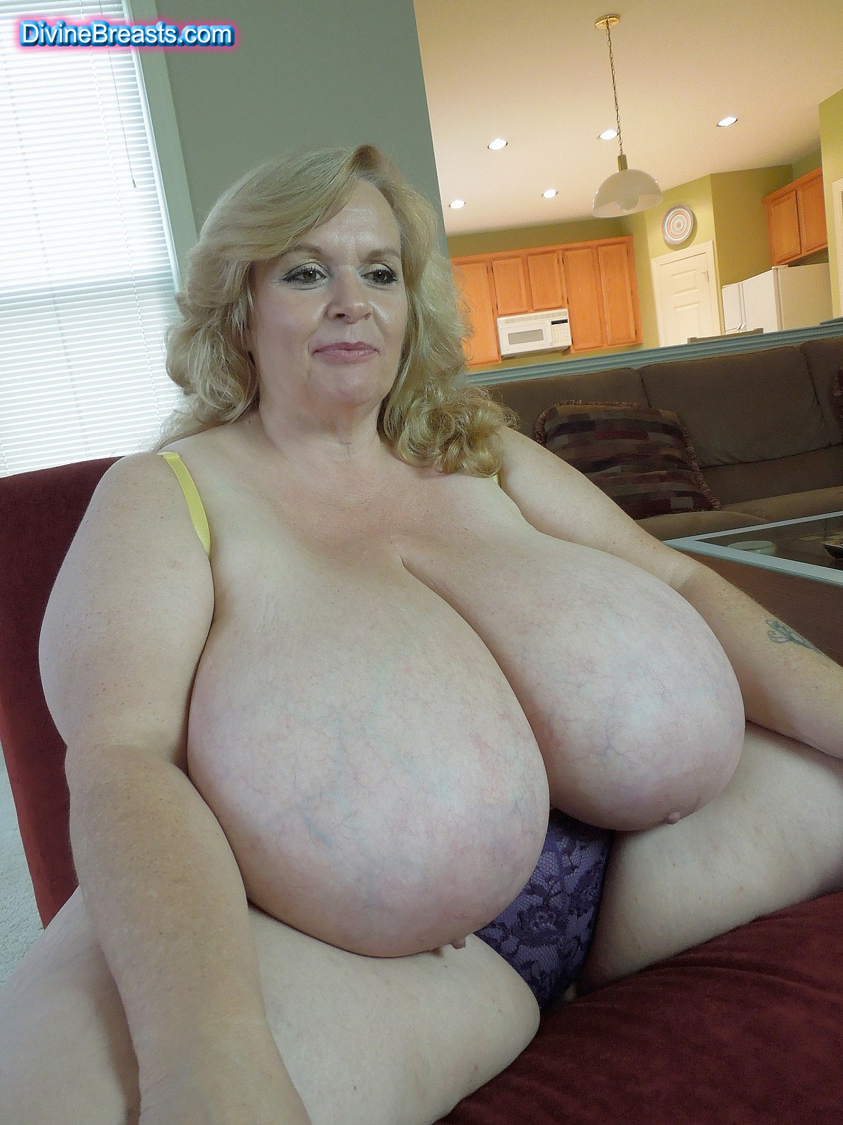 Old women huge breasts agree