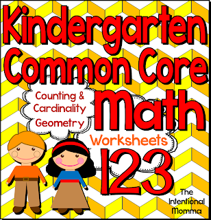 math worksheet : ccss kindergarten math worksheets : Kindergarten Common Core Math Worksheets
