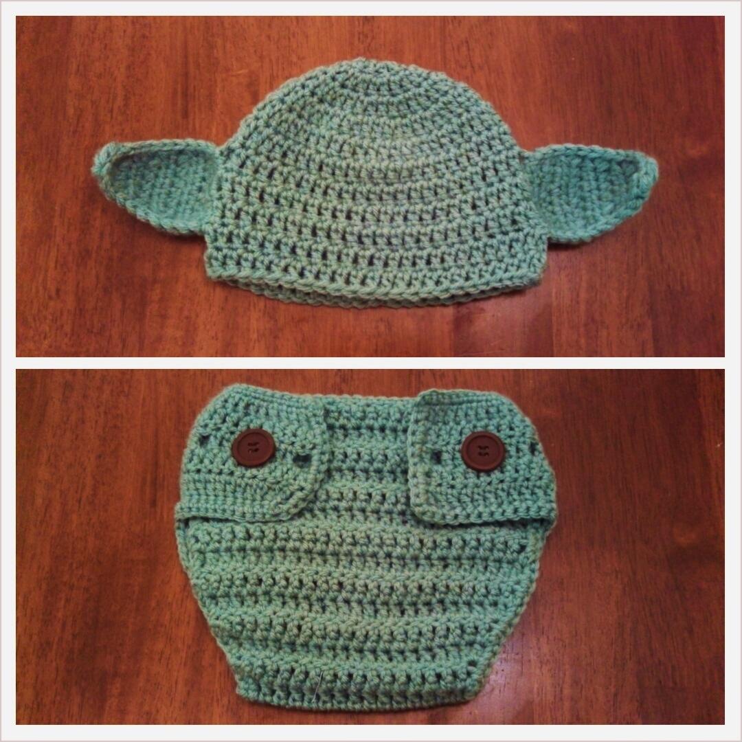 Butterfly\'s Creations: Yoda Beanies