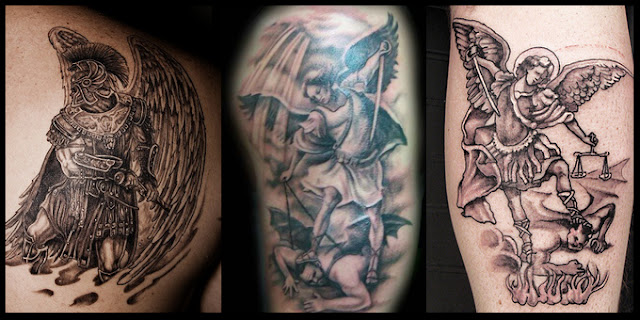 Arch Angel Tattoo Arch Angels Represent The Warriors Of God