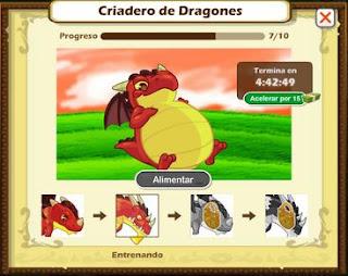 como sacar el dragon feroz en social empires