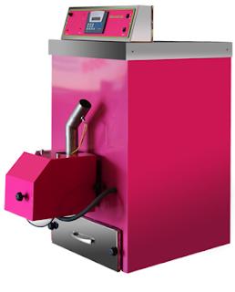 Caldera de biomasa de diseño para ahorrar energía en el hogar