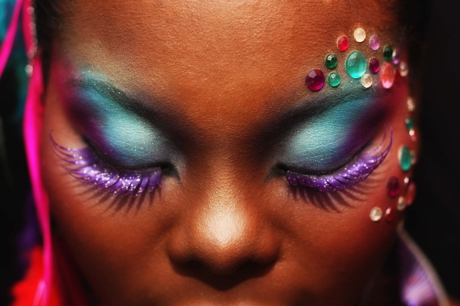 Komplekshuns by Kalifa P: Carnival Makeup....Bacchanalists ...