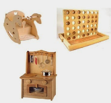 العاب مصنوعة من الخشب للاطفال