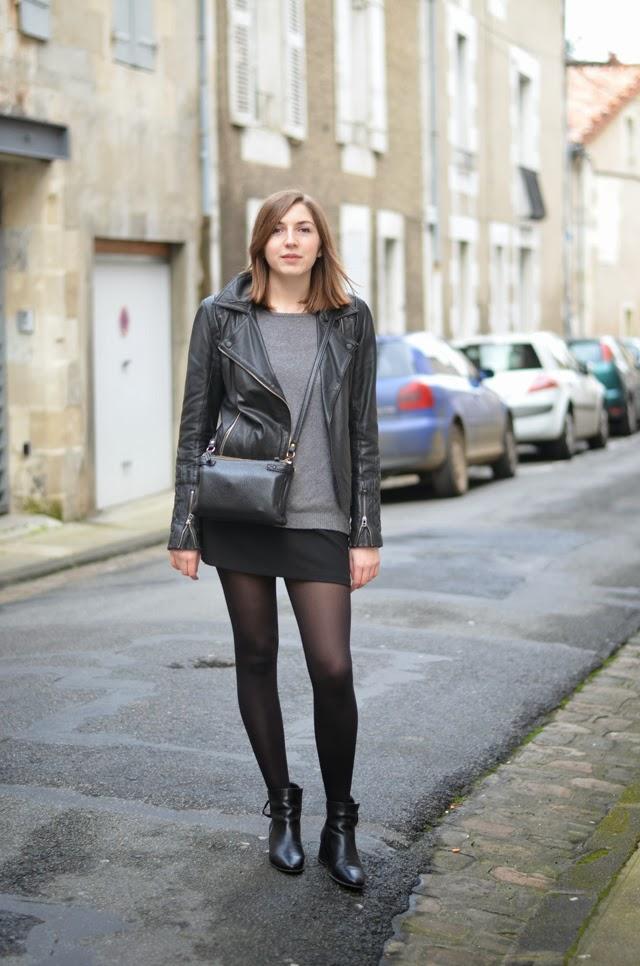 ohcommentcava jupe noire promod perfecto cuir nafnaf