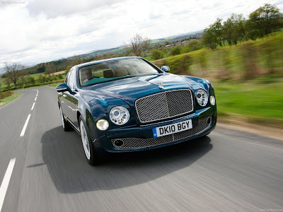 2011 Bentley Mulsanne Wallpaper