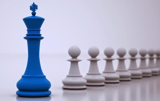 Cerebro buscar encontrar líder
