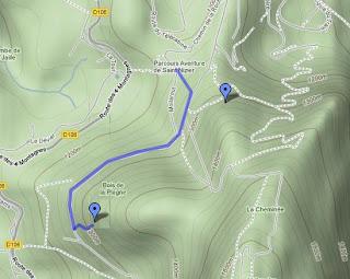topo escalade saint nizier rocher ane