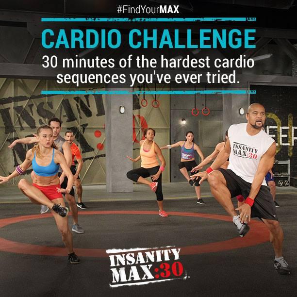 Insanity Max:30 - Cardio Challenge
