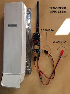 FPV transmitter 5.8Ghz