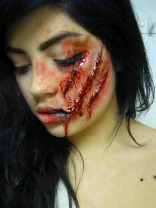 10 Creative Halloween Make-up Ideas