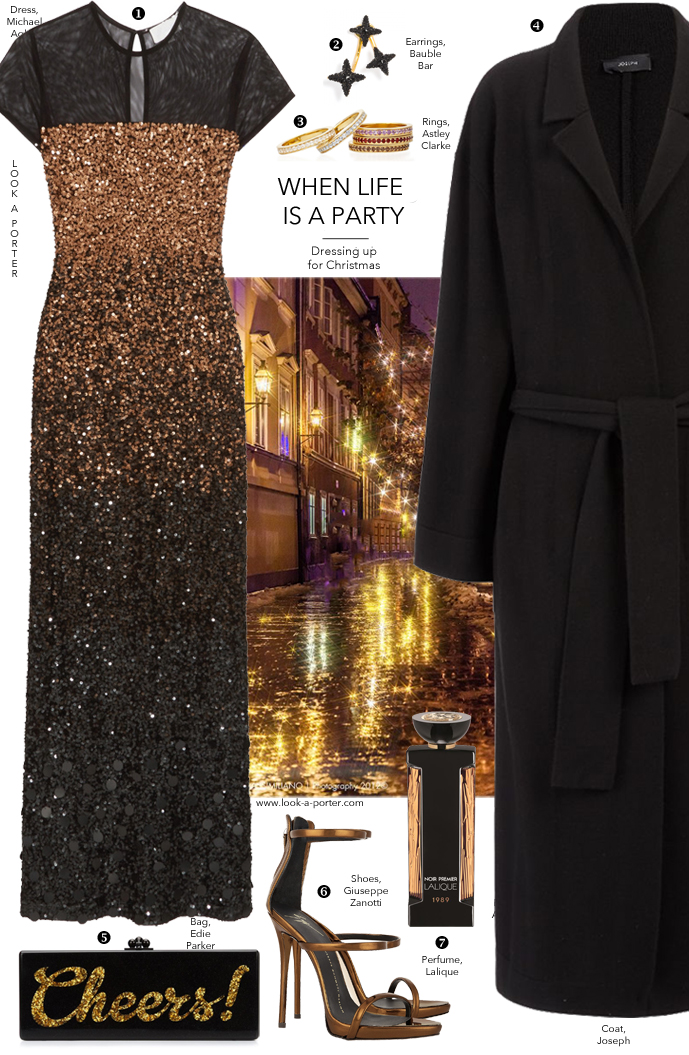 Party and evening outfit ideas via www.look-a-porter.com