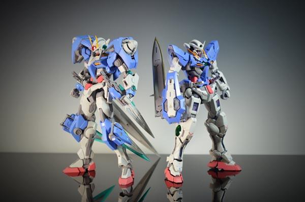 MG Exia and MG 00 7S