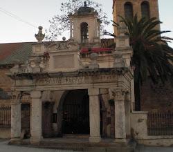 Restos del Templo de Marte en el Hornito de Santa Eulalia de Mérida