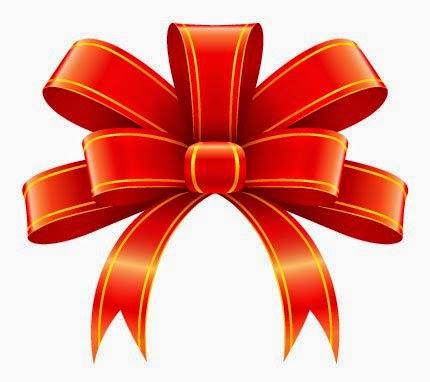 Lazos o mo os anaranjados para tu fiesta de 15 a os oh for Dibujo de lazo de navidad