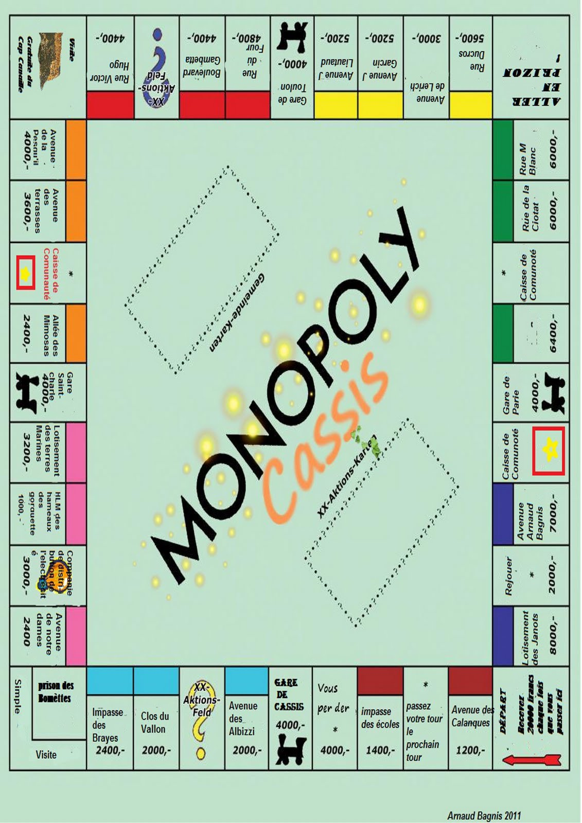 comment construire monopoly