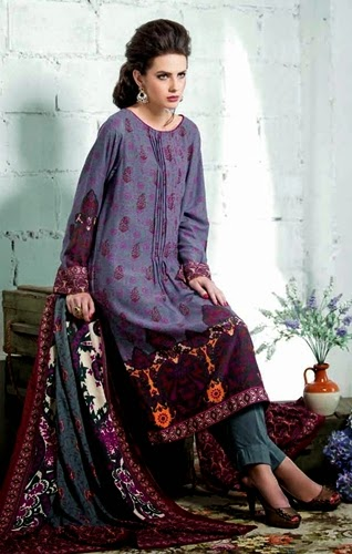 Gul Ahmed Winter Pali-14-15 Dresses