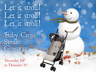 Baby Cargo Stroller Review and Giveaway - Image