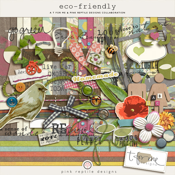 Pink reptile designs eco friendly collab with t for me for Eco friendly home kits