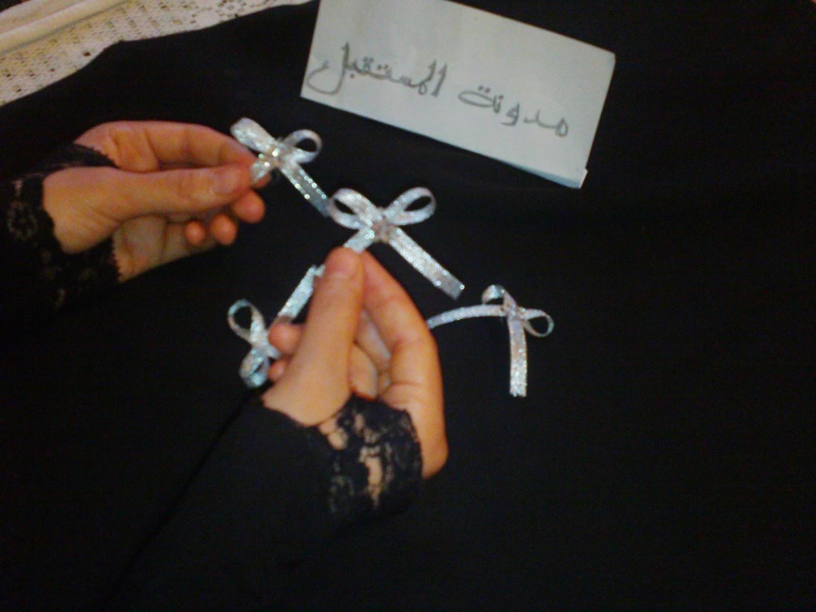 حامل المناديل بغرزة النول حصري لمدونة المستقبل