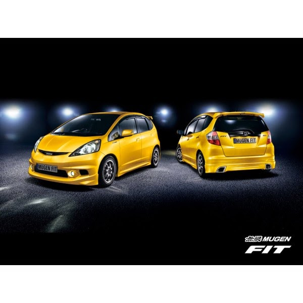 Full Bumper Honda Jazz RS Mugen 2008-2011