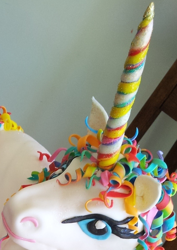 The Quick Unpick: The Rainbow Unicorn Cake semi-tute