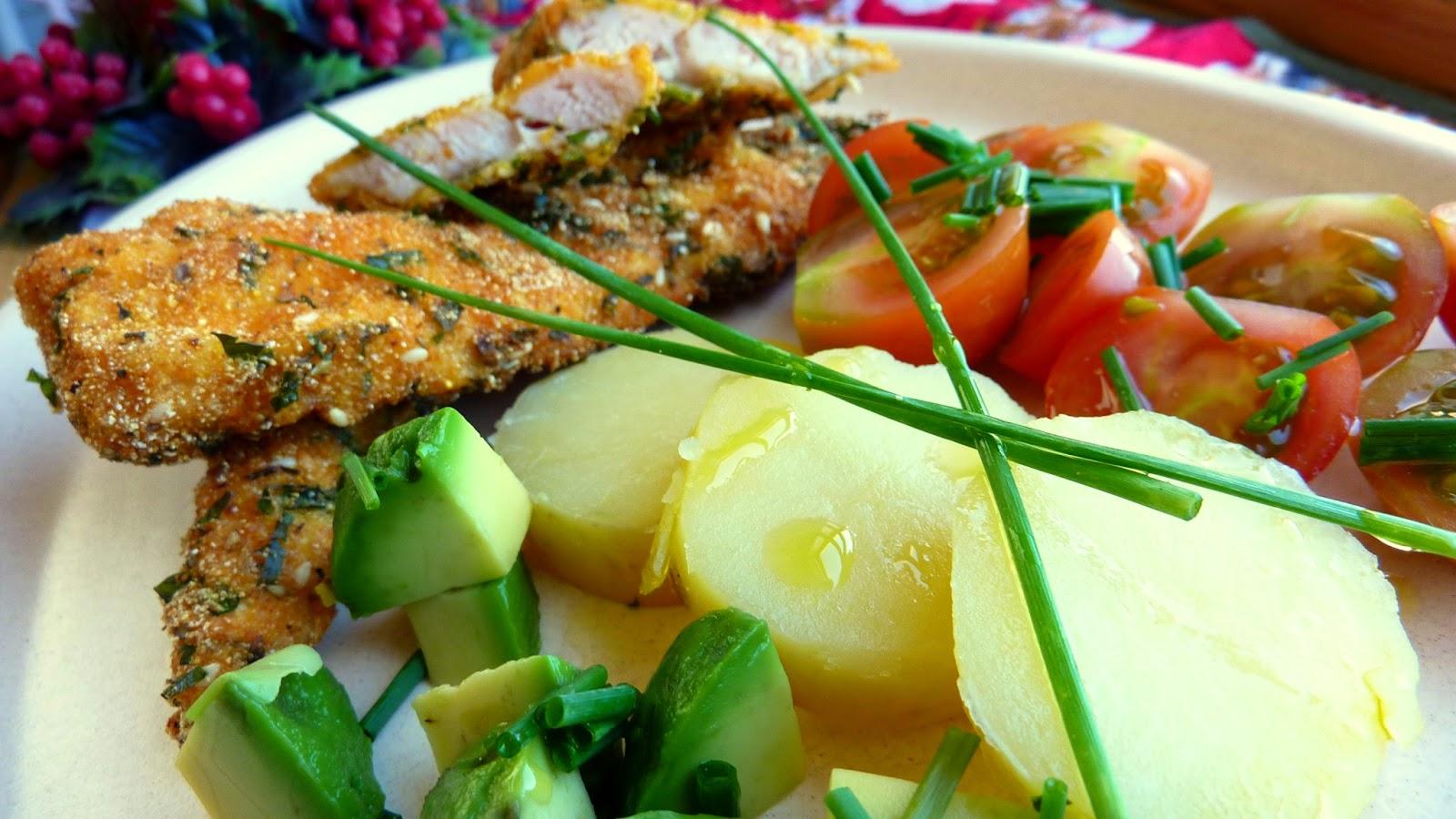 Receta: pollo apanado sin pan, gluten ni lácteos