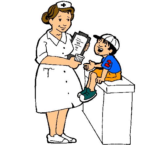 Dibujo de enfermeras en caricaturas - Imagui