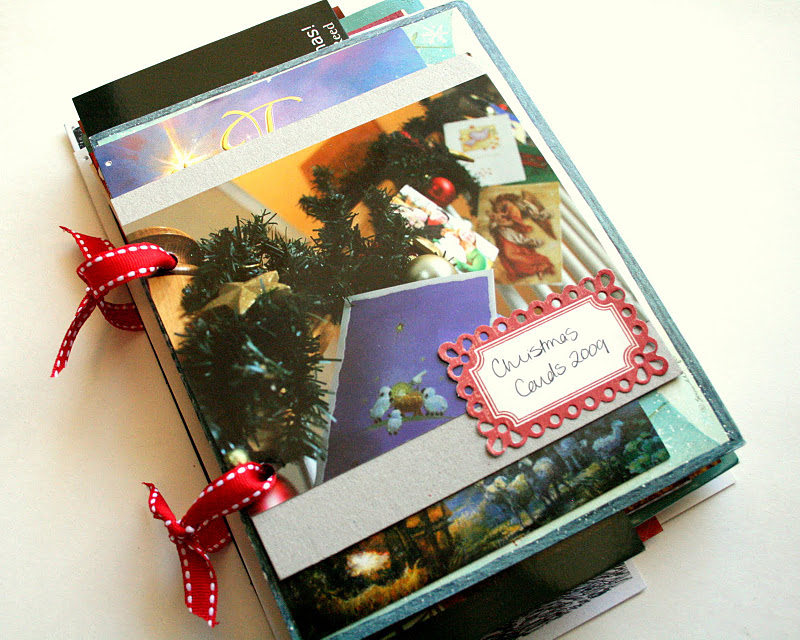 The Creative Place: Tuesday Tutorial: Christmas Card Saver