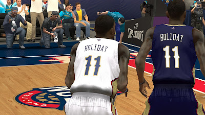 NBA 2K13 Pelicans Jerseys - Jrue Holiday