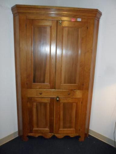 Antique Corner Cupboard--1,000.00