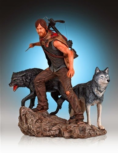 Statue Daryl The Walking Dead Gentle Giant 2015