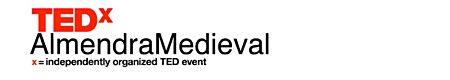 logo TEDx Almendra Medieval