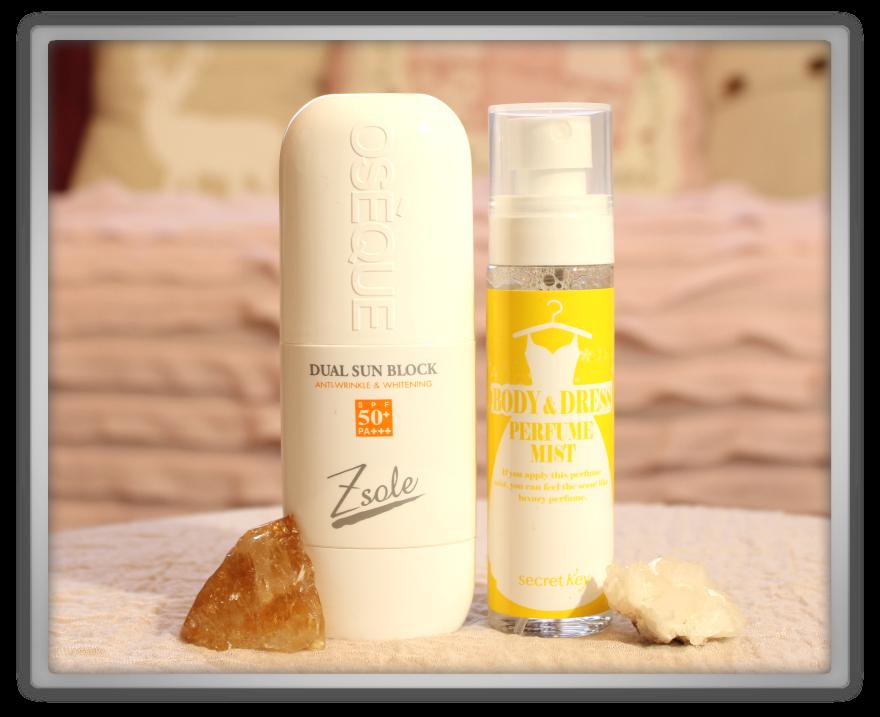 겟잇뷰티박스 by 미미박스 memebox special #22 2014 K-Beauty  Wrap-Up No. 1 box unboxing review secret key mist oseque sun block