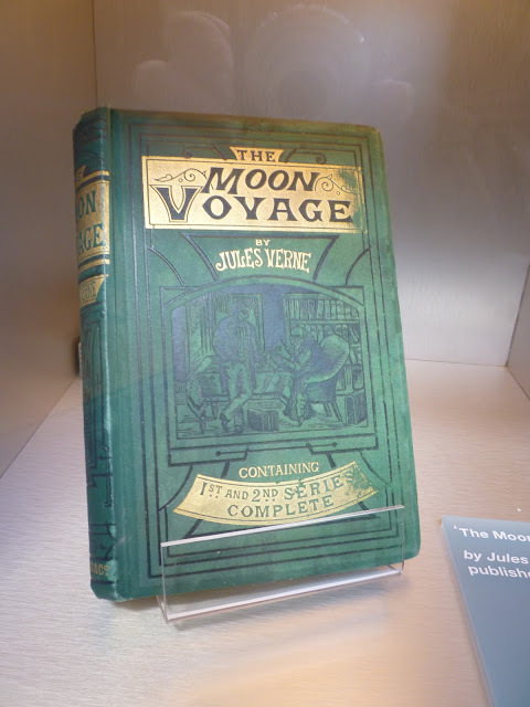 the moon voyage by jules verne at leicester space centre via lovebirds vintage