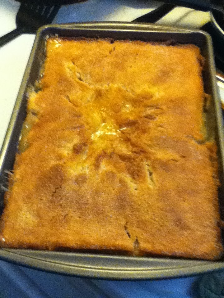 Mis)Adventures of a Newbie Foodie: Old Fashioned Peach Cobbler