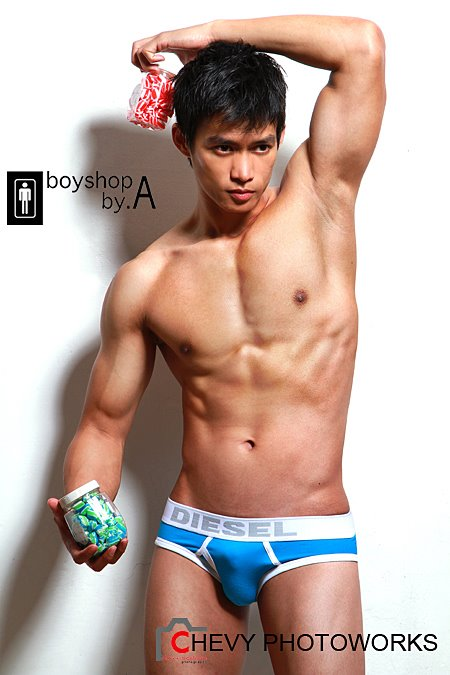 Dicky Ramdhani Asian Hot Male Model
