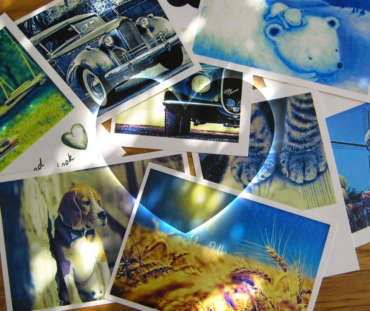открытки для обмена