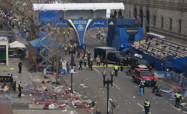 """Contractors"" at Boston Marathon Stood Near Bomb, Left Before Detonation FBI Contractors Disappear"