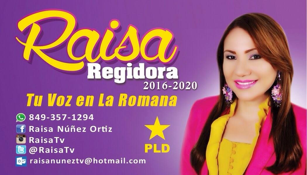 RAISA...REGIDORA
