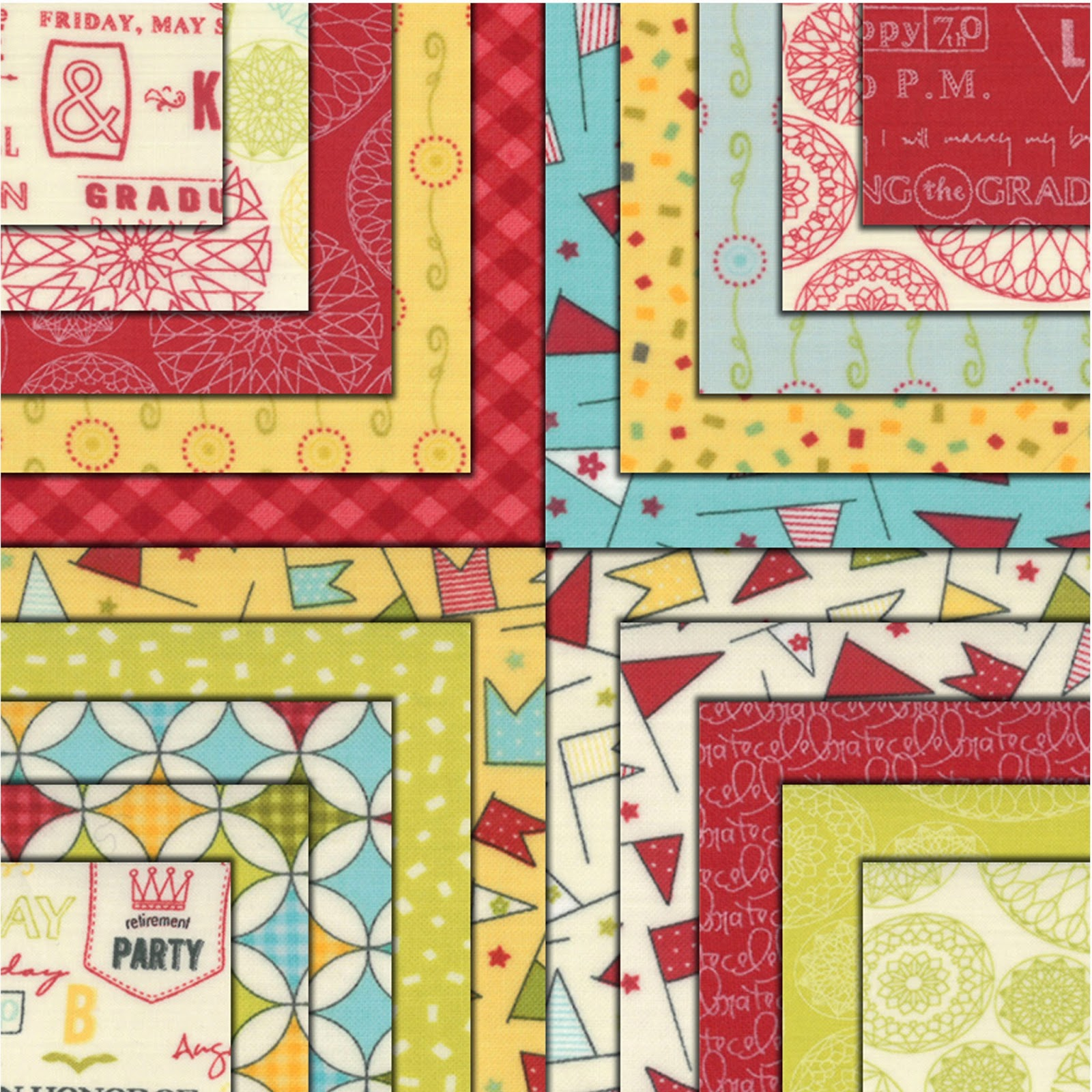 Crazy Quilt Girl Fabric Shop Moda Wishes Fabric