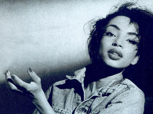 Sade Adu ; photo from Diamond Life (1984)