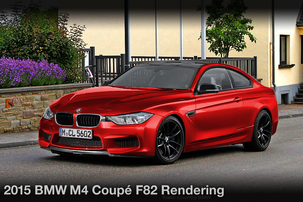 BMW M Coupe Rendering Gallery Town Country BMW - 2015 bmw m4 msrp