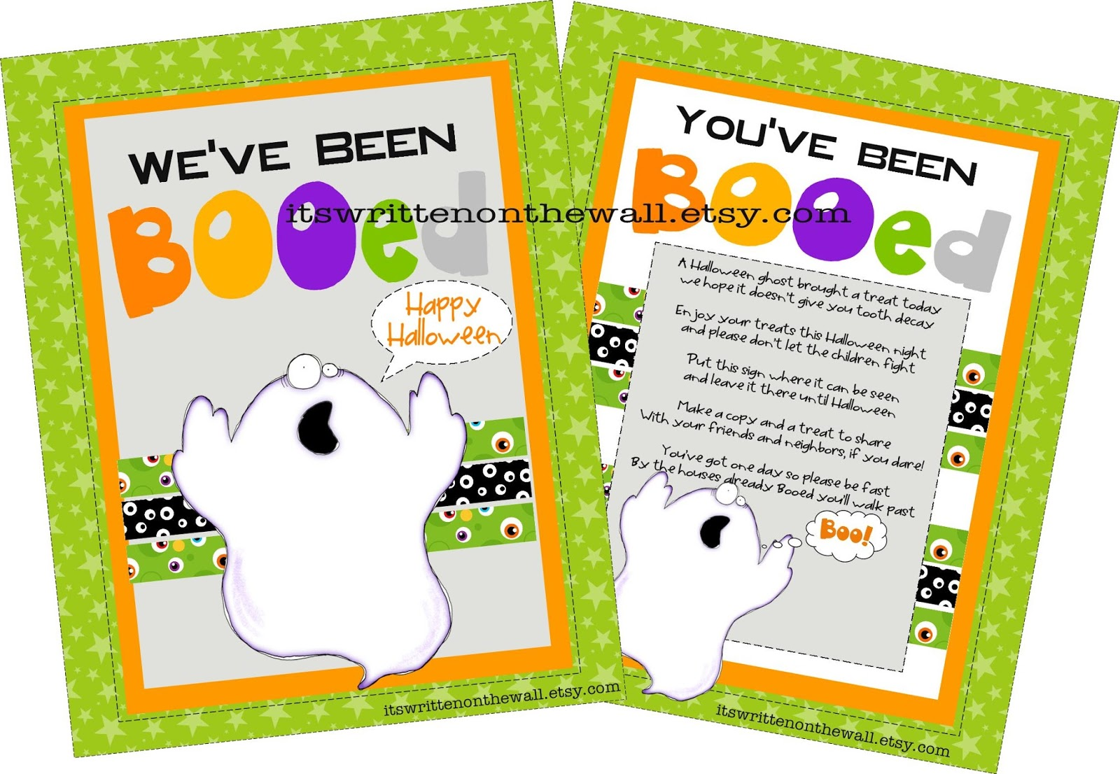 youve been booed halloween printable 8 treat tags and photo tutorial
